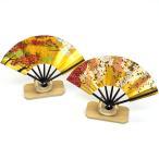 扇子 飾り扇子 日本製 京都「3寸ミニ飾り扇子 飾り台付き」舞扇堂