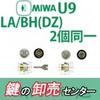 交換用U9シリンダー LA+DZ(BH LD LDSP) 2個同一