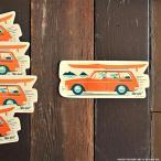 Nick Kuchar Sticker Hoe Wa'a ステッカー シール 単品 ハワイアン雑貨 ニック カッチャー サーフ アート レトロ