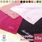 名入れタオル刺繍 贅沢ハンドタオル(今治タオル)名入れ刺繍 ネーム刺繍 贈り物 お祝い 記念品 景品 プレゼント サプライズ