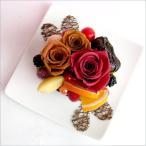 プリザーブドフラワー 誕生日 フラワーギフト プリザーブドアレンジ ケーキフラワー フラワーケーキ