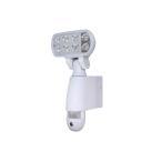 防犯カメラ 家庭用 屋外 人感センサー SDカード録画 LEDライト アラーム RMMT-SL03