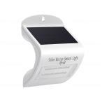 ショッピングLED LEDウォールライト ソーラー充電式 人感センサ付き 電球色
