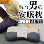 枕 まくら 西川リビング 戦う男の安眠枕 ぐっすりMEN'S 約35×55センチ 安眠枕 肩こり パイプ