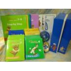 e7695 (み)DWEディズニー英語システムワールドファミリー メインプログラム ミッキーパッケージ ステップバイステップDVD 宝箱付き 幼児英語教材