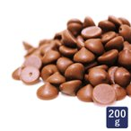 チョコレート ベルギー産 ミルクチョコレート カカオ35.5% 200g クーベルチュール