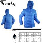 ダウンジャケット メンズ VERTICAL ヴァーティカル Down Jacket 〔ダウン ジャケット 17/18〕 (Blue):VV075
