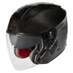 ジェットヘルメット WINS ウインズ A-Force RS JET カーボンヘルメット インナーバイザー付き 新商品予約受付中(2017年9月発売予定)