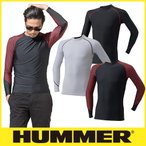 HUMMER ハマー 極涼 クールコンプレッション長袖クルーネック 9020-15
