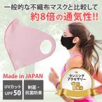 高通気性ランニングマスク mamoRUNtoマモラント ピンク【在庫あり】息苦しさ軽減 洗えるマスク 日本製 速乾 UVカット バフbuff メール便 スポーツマスク