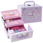 ユニコーン メイク ボックス 誕生日 プレゼント 女の子 小学生 キッズ コスメ セット 子供 用 化粧品 おもちゃ 安全 5歳 6歳 7歳 8歳