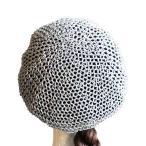 貝雷帽 - MetaMeta Hat メタメタハット  チェインメイルベレー ブラック