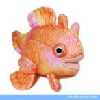 カエルアンコウ ぬいぐるみ 水族館 グッズ お魚シリーズ A-SHOW NEW カエルアンコウ オレンジ 13cm まんぼう屋ドットコム