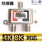 4K8K対応 TVアンテナ混合分波器 CW-275TV