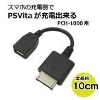 コアウェーブ スマホの充電器で充電出来る!PSVita 充電 変換ケーブル PCH-1000用 10cm BL0075