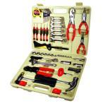 (業務用2個セット) TRAD 工具セット/ツールセット 〔58種類入り〕 収納ケース付き TS-58 〔DIY用品/日曜大工〕