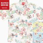 かりゆしウェア 沖縄 アロハシャツ MANGO HOUSE リゾート 結婚式 お揃い ペア 202044 がんばるヤンバルクイナ(ボタンダウンシャツ|裏地仕様)メンズ