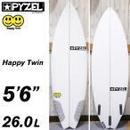 """ショートボード PYZEL SURFBOARDS パイゼルサーフボード HAPPY TWIN 5'6"""" ハッピーツイン"""