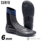 サーフィン ブーツ SURF8 サーフ8 88F1R8 6mmスプリットソールブーツPRO 遠赤起毛ジャージ/NR