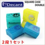 DECANT デキャント WAX CASE ニューカラー ワックスケース (2段1セット) サーフィン