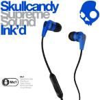 日本正規店 Skullcandy スカルキャンディー イヤホン イヤフォン Ink'd Blue/Black