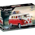 プレイモービル ブロック 組み立て 70176 Playmobil Volkswagen T1 Camping Bus