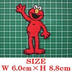 Sesame Street セサミストリートエルモ Elmo 手を上げ