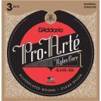 D'Addario ダダリオ クラシックギター弦 プロアルテ Silver/Clear Normal EJ45-3D 3set入りパック