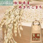 米 あきたこまち 30kg 秋田県産 お米 2年産 送料無料  『令和2年秋田県産あきたこまち玄米30kg』