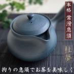 こだわり 急須 常滑焼 おしゃれ お茶が美味しくなる ティーポット 日本製 陶器 きゅうす 上品 108 茶こし付き プレゼント ギフト 紺色 大きい 茶器 杜夢