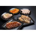 肉 牛肉 豚肉 鶏肉 焼肉セット 盛り ステーキバーベキューセット(ブロック) 5-7人前 バラエティ豊かな味付き5種類 約2.2kgセット