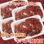 商番1101 11時までの注文で当日発送!(水日祝除く) 牛ハラミ焼肉用 1kg(250g×4)