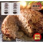送料無料 ギフト 松阪牛入(31%)生ハンバーグ 10個 HB10-100MA