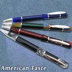 【アメリカンテイスト ニードルポイント油性ボールペン 0.7mmボール径 AT-5T031】※6本までDM便(選択必須)可能[オート][M在庫]