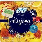 Yahoo!西新オレンジストア ヤフー店ソフィ Kiyora フレグランス フローラル&シトラスの香り(72枚入*2コセット)