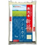 ミツハシライス 新潟県産コシヒカリ 無洗米 5Kg