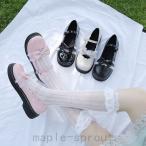 lolita パンプス靴 レディース イギリス風 レトロ 学院風 アンク