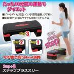 踏み台昇降運動 ステップ台 健康器具 足 台 ステッププラススリー 有酸素運動 送料無料
