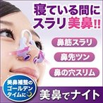 鼻プチ 美鼻補整器具 美鼻でナイト 送料無料 補正 高く 矯正器具 補整器具 鼻の形