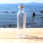 ハーバリウム 用 ハート瓶 100ml 1本 選べるキャップ付き(ゴールド・シルバー・ピンクゴールド) 空ビン ボトル(キット オイル用 植物標本 花材用)