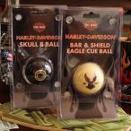 A4 ハーレーダビッドソン ビリヤードボール 2種セット キューボール&エイトボール // インテリア雑貨 / HARLEY-DAVIDSON / 撞球