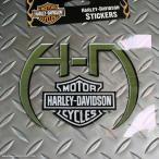 HARLEY-DAVIDSON デカール・ステッカー #003 // カスタムステッカー / シール / ハーレーダビッドソン / メール便可