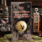 A4 ハーレーダビッドソン ビリヤードボール イーグル・キューボール // インテリア雑貨 / HARLEY-DAVIDSON / 撞球