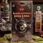 A4 ハーレーダビッドソン ビリヤードボール スカル・エイトボール // インテリア雑貨 / HARLEY-DAVIDSON / 撞球