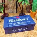 ミリタリー エマージェンシー ケース #001 Air Force // 救急箱 アメリカン雑貨
