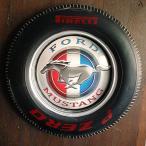 タイヤ型ウォールライト Ford マスタング // アメリカン雑貨 照明 並行輸入品