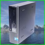 ショッピング中古 中古デスクトップパソコン Windows7  省スペースパソコン  DELL OPTIPLEX 780USFF Core2Duo E7500 DVD-ROM WPS Office