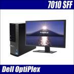 ショッピング中古 中古デスクトップパソコン Windows10搭載 液晶22ワイドセット | DELL Optiplex7010SFF  | Core i5 3470:3.2GHzGHz メモリ:8GB HDD:500GB 送料無料