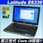 ショッピング中古 中古ノートパソコン Windows7|DELL(デル) LATITUDE E6330|Corei5-3320 2.6GHz|320GB|DVDスーパマルチ| WPS Office