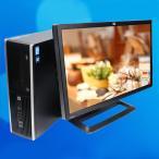 ショッピング中古 中古デスクトップパソコン|HP Compaq 8100 Pro|Core i5 3.2GHz|MEM:4GB|HDD:250GB|22インチワイド液晶セット|Windows7